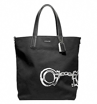 Hugo-guinness-for-coach-handcuff-reversible-tote