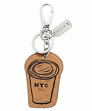 Hugo-guinness-for-coach-coffee-cup-key-ring